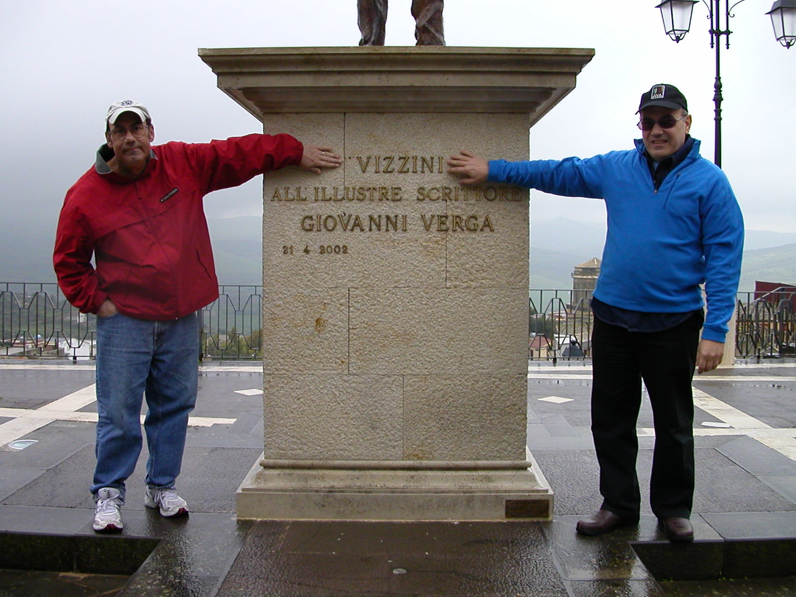 Taken in the Palazzo of the Verga family. Picture of Jon and Paul.